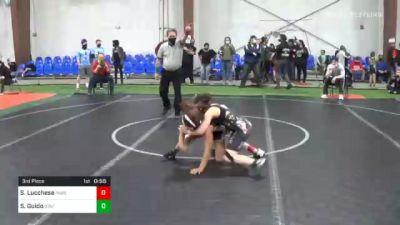 85 lbs 3rd Place - Scarlett Lucchese, Parsippany PAL Wrestling vs Shae-Lyn Guido, Stafford Wrestling
