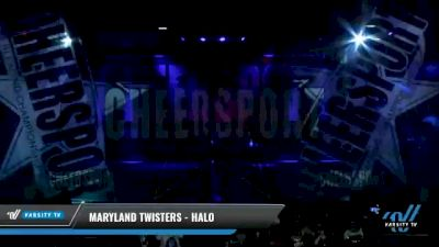 Maryland Twisters - Halo [2021 L4 Youth Day 2] 2021 CHEERSPORT National Cheerleading Championship