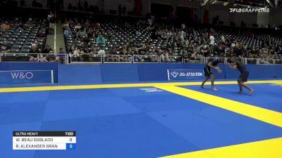 WYATT BEAU DOBLADO vs RAYMOND ALEXANDER GRANDY 2021 World IBJJF Jiu-Jitsu No-Gi Championship