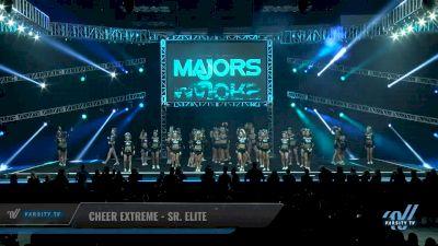 Cheer Extreme - Sr. Elite [2018 Large All Girl 5 Day 1] The Majors