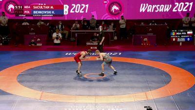 65 kg Maxim SACULTAN, MDA vs Krzysztof BIENKOWSKI, POL