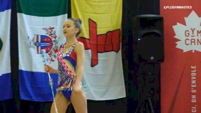 Izabella Helbin - Clubs, Silhouettes of York - 2019 Elite Canada - Rhythmic