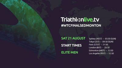 Replay: World Triathlon Series Edmonton  - 2021 World Triathlon Series: Edmonton | Aug 21 @ 8 AM