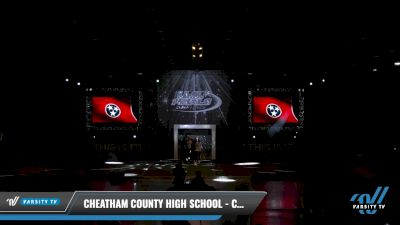 Cheatham County High School - Cheatham County Central High School Dance Team [2021 Varsity - Hip Hop Day 2] 2021 The U.S. Finals: Louisville
