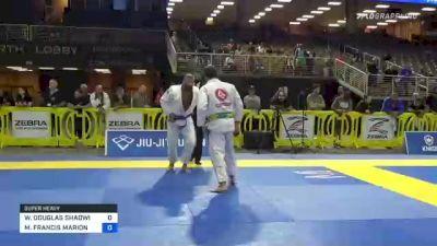 WILLIAM DOUGLAS SHADWICK II vs MICHAEL FRANCIS MARION 2021 Pan Jiu-Jitsu IBJJF Championship