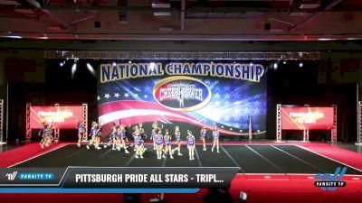 Pittsburgh Pride All Stars - Triple Threat [2021 L3 Junior - Medium Day 2] 2021 ACP: Midwest World Bid National Championship