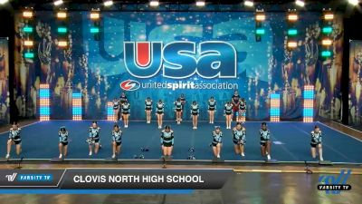 Clovis North High School [2020 Large JV Show Cheer Novice (17-20) Day 2] 2020 USA Spirit Nationals