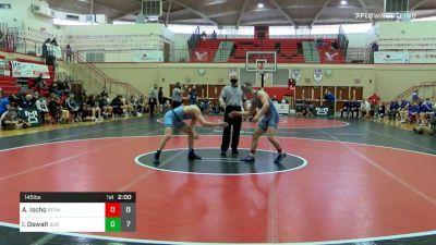 145 lbs Semifinal - Alex Ischo, Reynolds vs Ian Oswalt, Burrell