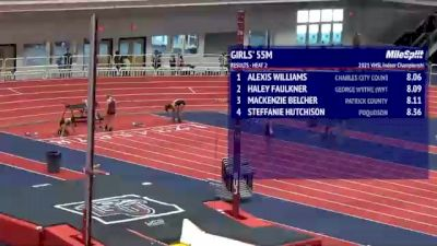 High School Girls' 55m, Finals 3