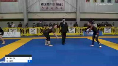 HEATHER CAYLOR vs KATHLEEN EGAN 2020 American National IBJJF Jiu-Jitsu Championship