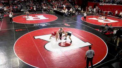285 lbs Semifinal - Trent Hillger, Wisconsin vs Mason Parris, Michigan