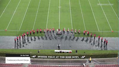Freelancers Alumni Corps at 2021 Drum Corps at the Rose Bowl