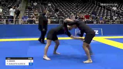 SCOTT DANCE vs FREDERICO AUGUSTO ALVES SILVA 2021 World IBJJF Jiu-Jitsu No-Gi Championship