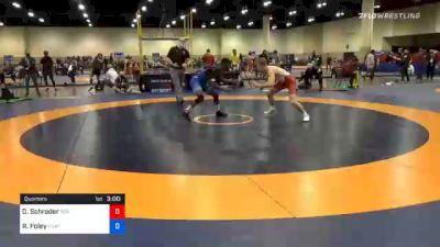 57 kg Quarterfinal - Devin Schroder, Boilermaker RTC vs Rayvon Foley, Unattached