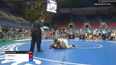 152 lbs Quarterfinal - Jordan Williams, Oklahoma vs Vincent Zerban, Illinois