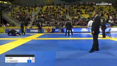 GUSTAVO DIAS ELIAS vs ORLANDO FERNANDO CASTILLO ANDAVI 2019 World Jiu-Jitsu IBJJF Championship