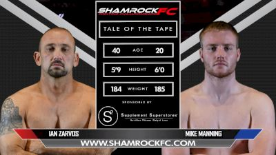 Mike Manning vs. Ian Zarvos - Shamrock FC 311 Full Fight Replay