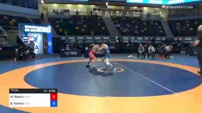 55 kg Final - Max Nowry, Army (WCAP) vs Brady Koontz, TMWC/ Ohio Regional Training Center