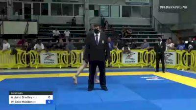 Adam John Bradley vs Walker Cole Madden 2021 Pan IBJJF Jiu-Jitsu No-Gi Championship