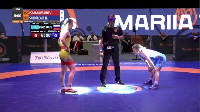 50 kg Bronze - Valentina Islamova Brik, KAZ vs Nadezhda Sokolova, RUS