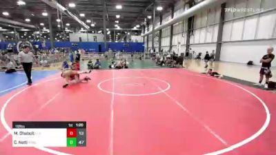 112 lbs Rr Rnd 3 - Maximus Dhabolt, Elite Athletic Club vs Chris Notti, Xtreme Training