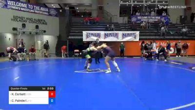 191 lbs Quarterfinal - Kelani Corbett, Lyon vs Catherine Palmieri, Life