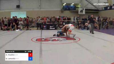 70 kg Round Of 32 - AC Headlee, Sunkist Kids Wrestling Club vs Benjamin Lamantia, Michigan Regional Training Center