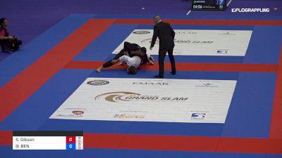 Sam Gibson vs DAVID BEN ZAKEN 2019 Abu Dhabi Grand Slam London