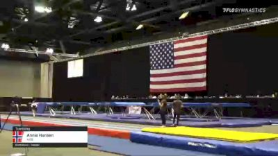 Annie Hansen - Tumbling, NSB - 2021 USA Gymnastics Championships