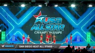 San Diego Heat All Stars - Lady Evolution [2019 Junior - D2 - Small - A 2 Day 1] 2019 USA All Star Championships