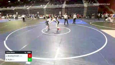 152 lbs Consolation - Joshua Brockschmidt, Wcwc vs David Pullin, Air Academy
