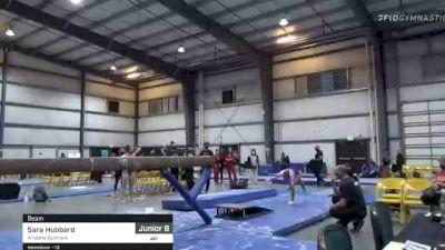 Sara Hubbard - Beam, Arizona Sunrays - 2021 Region 1 Women's Championships