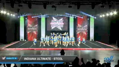 Indiana Ultimate - Steel [2021 L4 Senior - Medium Day 2] 2021 JAMfest Cheer Super Nationals