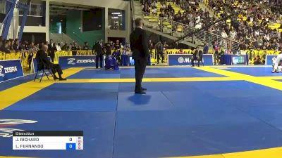 JAMES RICHARD PUOPOLO vs LUIZ FERNANDO DE AZEVEDO PANZA 2019 World Jiu-Jitsu IBJJF Championship