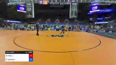 152 lbs Consi Of 4 - Michael Kilic, Georgia vs Paniro Johnson, Pennsylvania