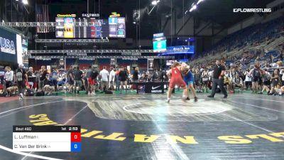 285 lbs Rnd Of 64 - Luke Luffman, Illinois vs Christopher Van Der Brink, Iowa