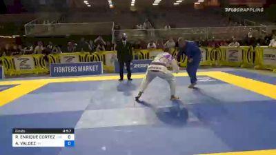RAMON ENRIQUE CORTEZ JR vs ABRAM VALDEZ 2020 World Master IBJJF Jiu-Jitsu Championship
