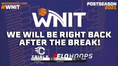 CLEMSON vs. DELAWARE - 2021 WNIT - Round 2, Charlotte Regional