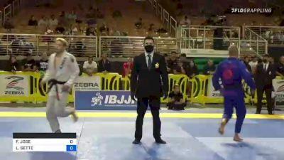 FABRICIO JOSE vs LUCAS SETTE 2021 Pan Jiu-Jitsu IBJJF Championship