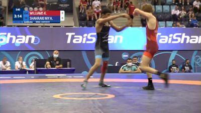 51 kg Qualif. - Kaedyn Evan Williams, United States vs Abolfazl Ahmad Shahrakiniya, Iran