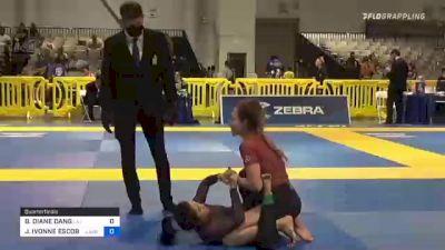 BRENDA DIANE DANG vs JENNIFER IVONNE ESCOBAR 2021 American National IBJJF Jiu-Jitsu Championship