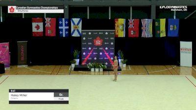 Haley Miller - Ball, Ontario - 2019 Canadian Gymnastics Championships - Rhythmic