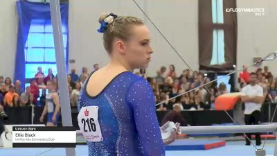 Ellie Black - Bars, Halifax Alta Gymnastics Club - 2019 Canadian Gymnastics Championships