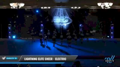 Lightning Elite Cheer - Electric [2021 L3 Perf Rec - 14 and Younger (NON) Day 2] 2021 The U.S. Finals: Phoenix