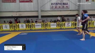 Gavin William Black vs Tucker Ryan Ray 2021 Pan IBJJF Jiu-Jitsu No-Gi Championship