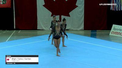 Bligh / Calvo / Carlton - Group, Calgary Acro - 2019 Canadian Gymnastics Championships - Acro