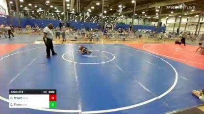 40 lbs Consi Of 4 - Sam Myatt, Ringers/BAM vs Connor Flynn, Summit Wrestling Academy