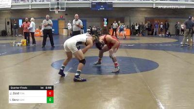 Quarterfinal - Jackie Gold, Edinboro vs Ian Senz, Kent State