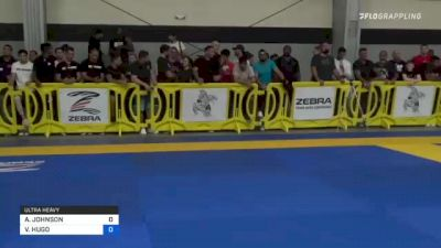 AARON JOHNSON vs VICTOR HUGO 2021 Pan IBJJF Jiu-Jitsu No-Gi Championship
