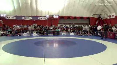 71 kg Rr Rnd 2 - Aiden Riggins, Sebolt Wrestling Academy vs Levi Haines, M2 Training Center